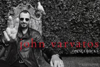 John Varvatos Ringo Starr Ad Campaign