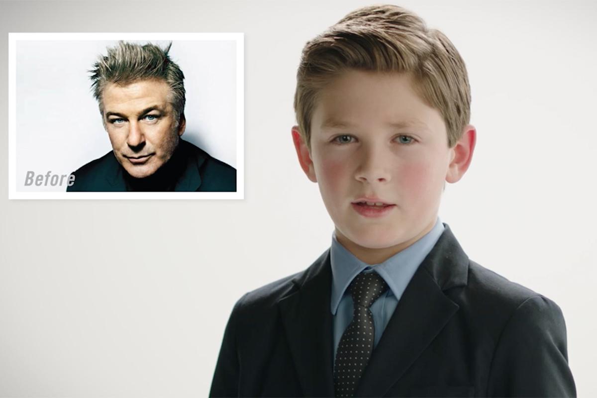 Kiehls/Zoolander 2 Reverse Aging Celebrities - Alec Baldwin