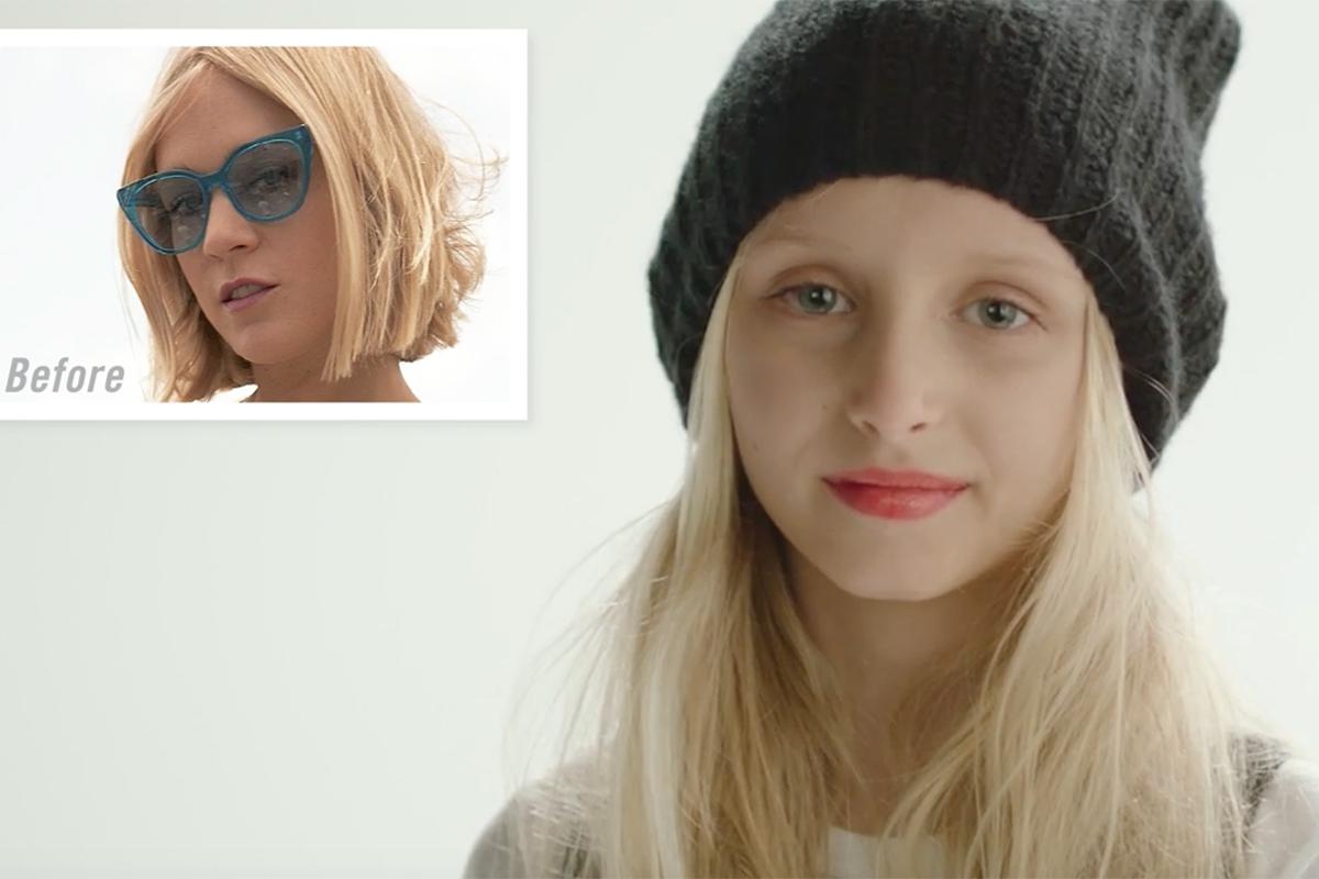 Kiehls/Zoolander 2 Reverse Aging Celebrities - Chloe Sevigny