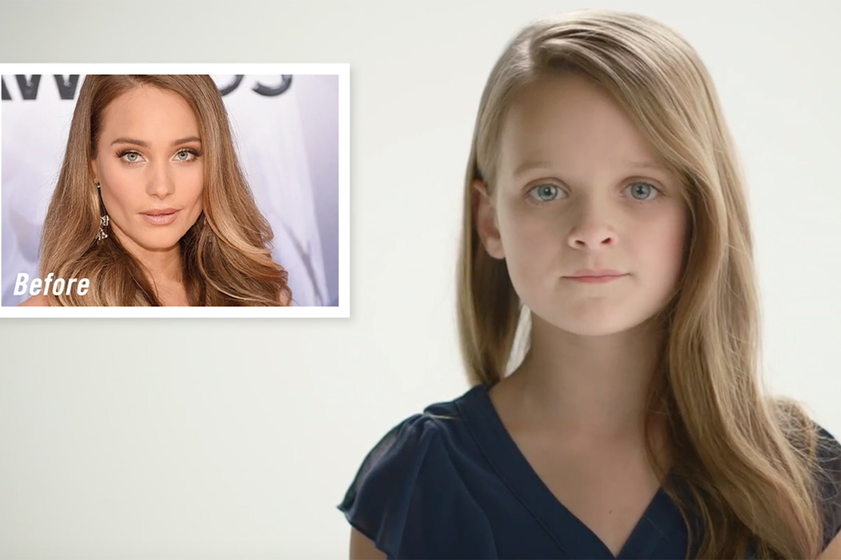 Kiehls/Zoolander 2 Reverse Aging Celebrities - Hannah Davis
