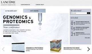 Lancome Scientific Webstation