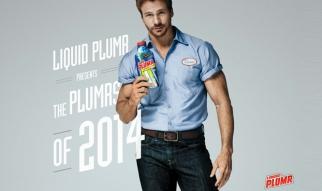 Liquid Plumr Hunky Plumr 2014 Calendar