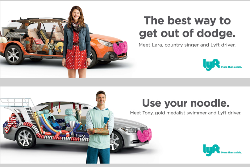 Lyft Lyft Brand Campaign