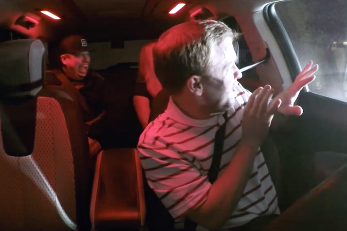 Lyft Stranger Mode Experience (video)