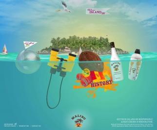 Malibu Rum Get Your Island On