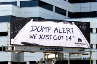 Mammoth Dump Alerts
