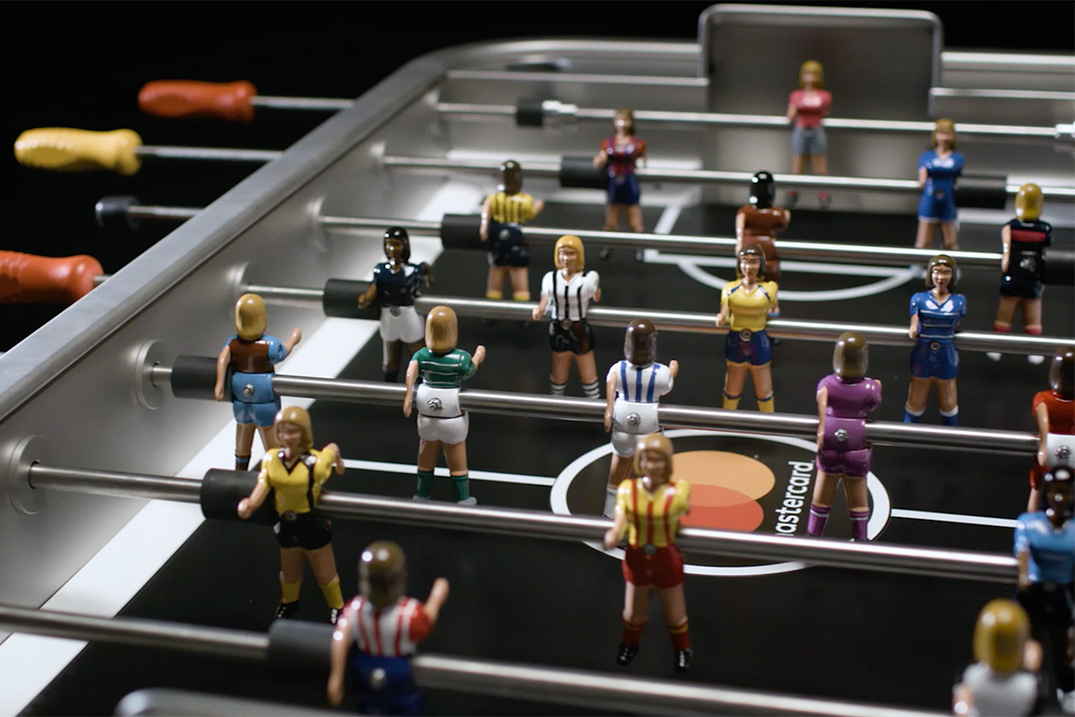 MasterCard Women's Football Table