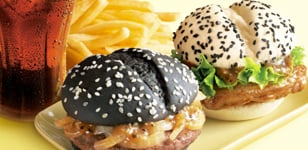 McDonald's (China) Black & White Burgers