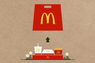 McDonald's Bag Tray