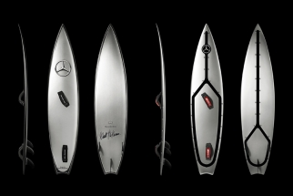 Mercedes-Benz The Mercedes-Benz Surfboard for Garrett McNamara