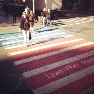 Miami Ad School 9/11 Crosswalks -- SoHo