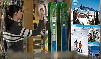 Microsoft Kinect Ski Shop