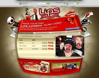 Microsoft XBOX Lips Jukebox