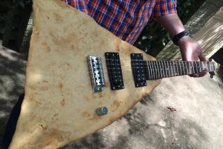 Moe's Southwest Grill Chip Guitars Rock