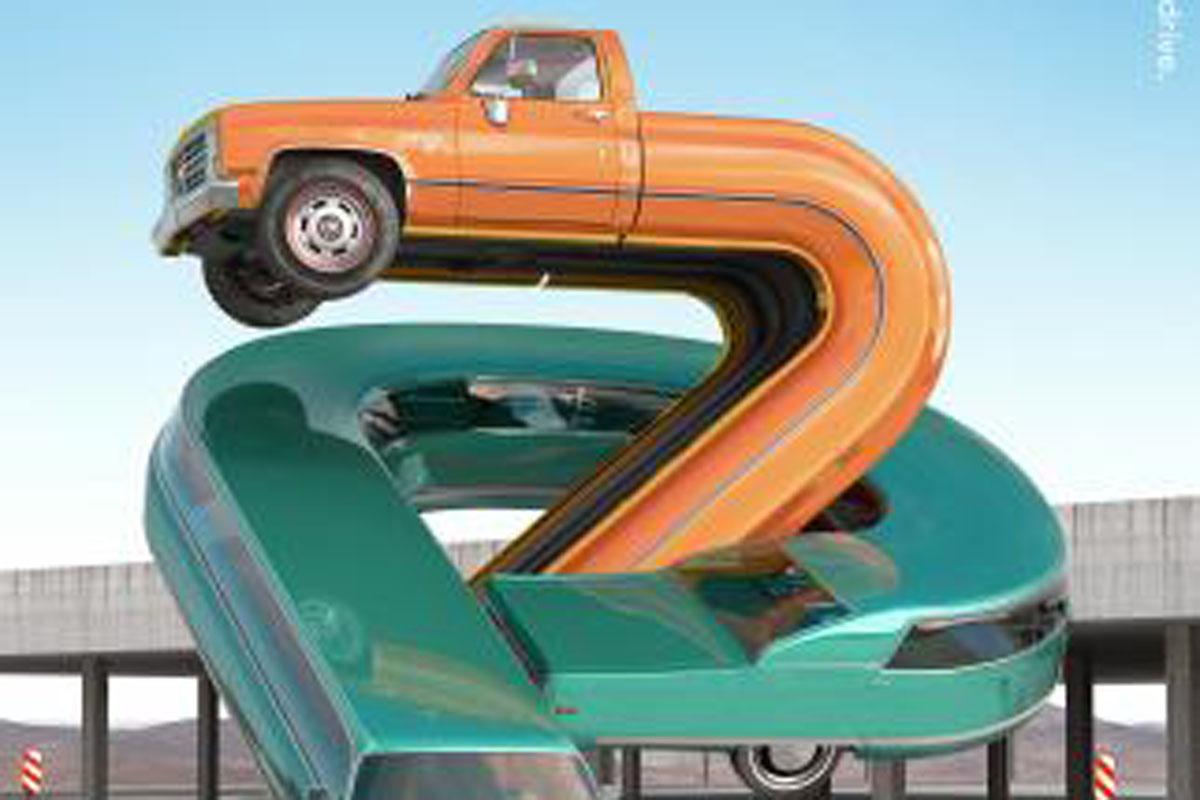 Movistar Letter Cars - PZ
