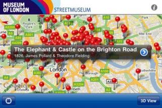 Museum of London Streetmuseum App (2)