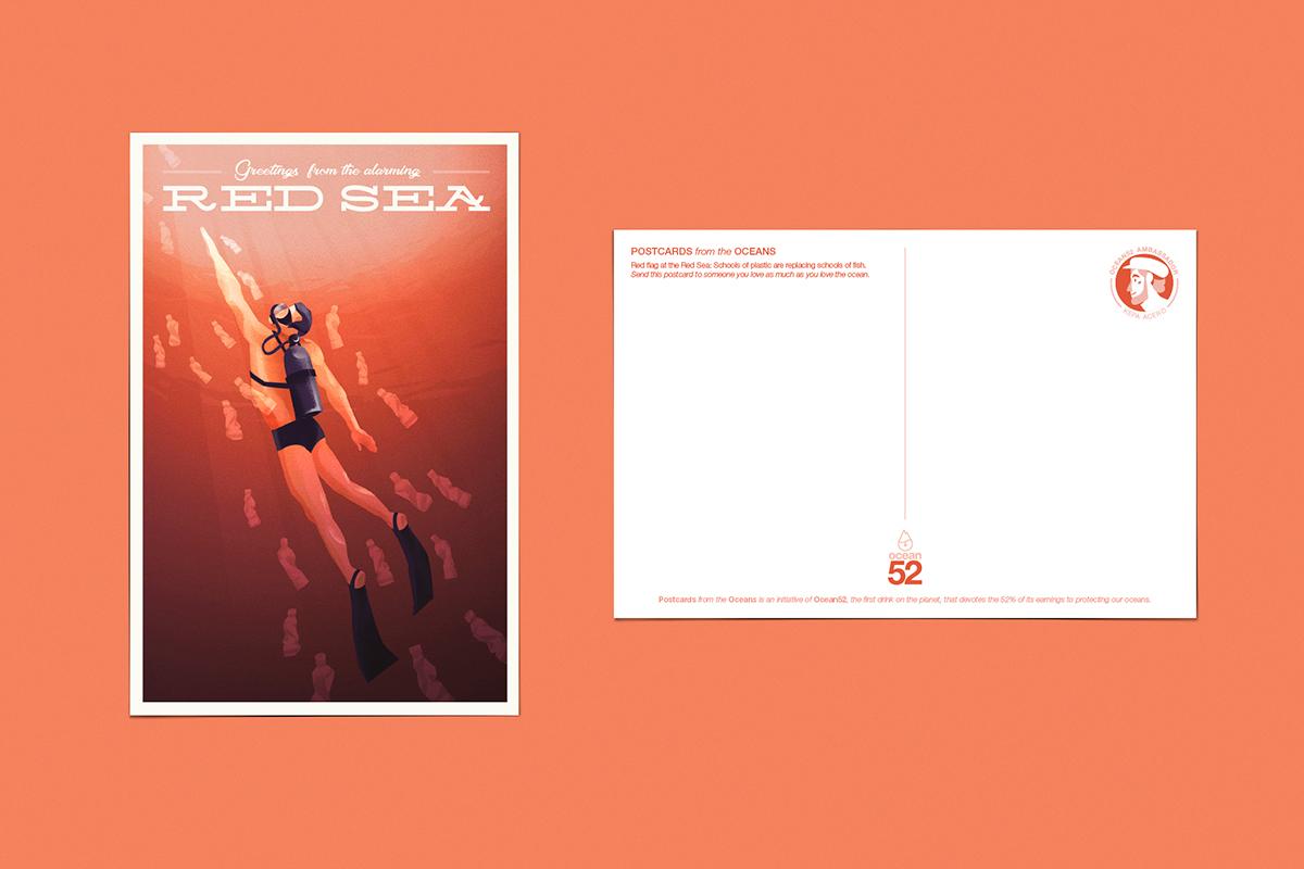 Ocean52 Postcards from the Oceans (print)