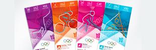 Olympics 2012 Ticket Designs