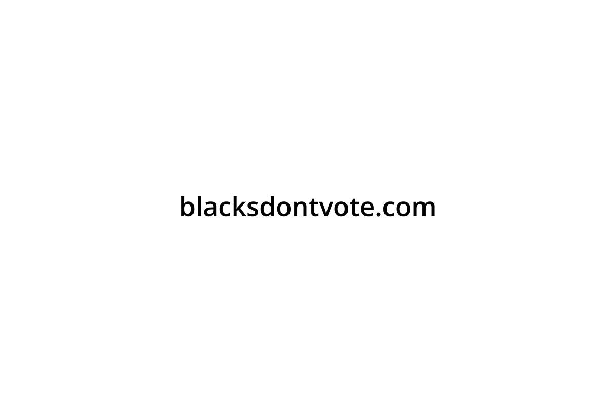 Operation Black Vote Blacksdon'tvote