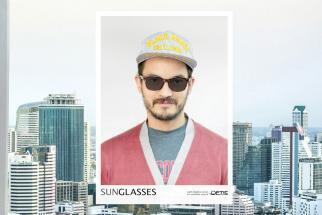 Optic Square Light Adaptive Poster