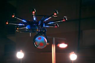 Pepsi Max Drone Football