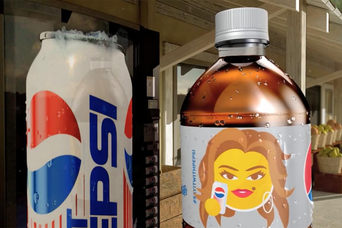 Pepsi Cindy Crawford Emoji