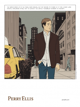 Perry Ellis Fashion-Forward Comics