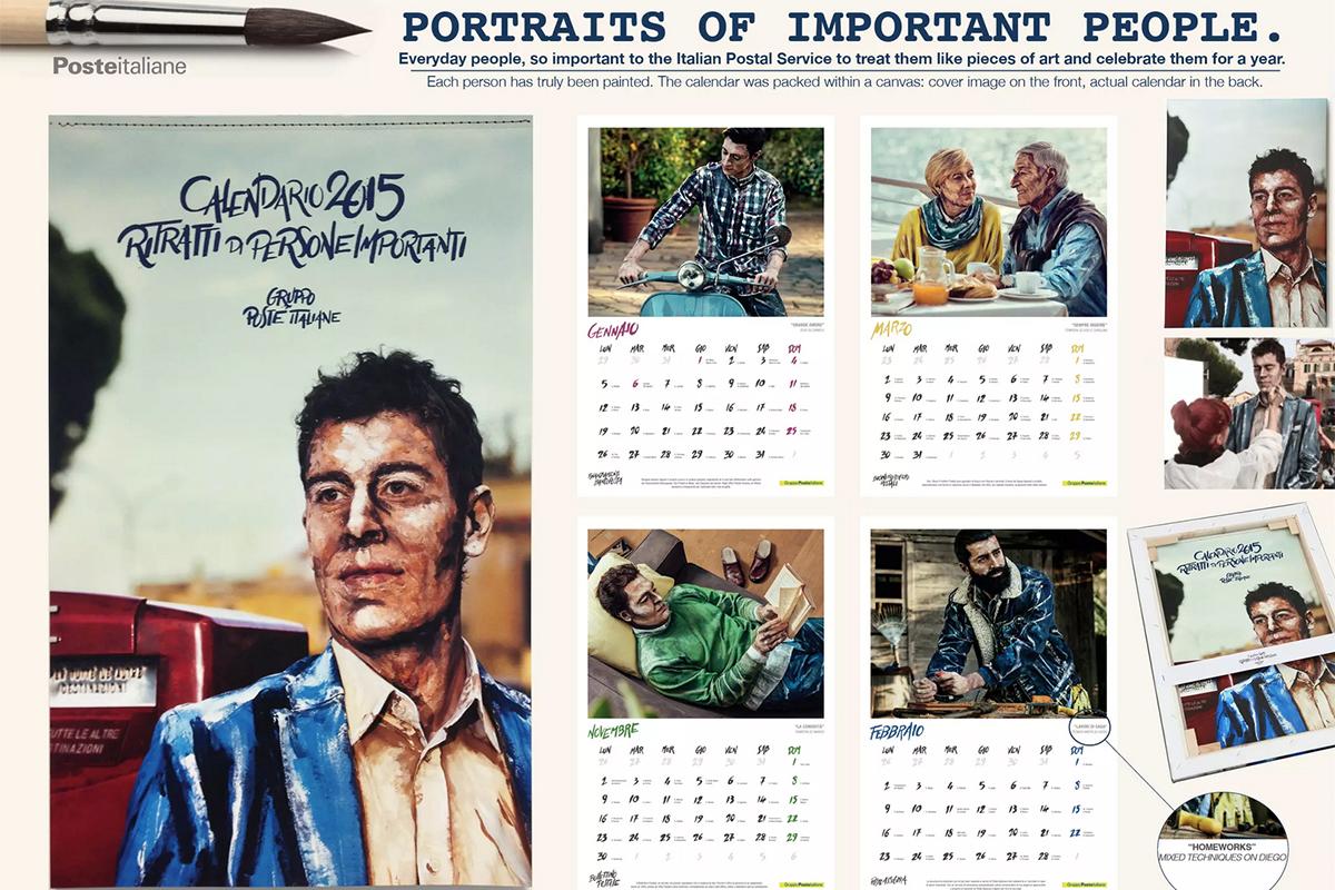 Poste Italiane Poste Italiane Calendar 2015