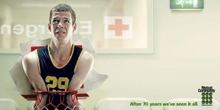Mutual Community Health Insurance Basketball Player