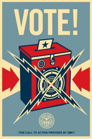 Shepard Fairey Vote!