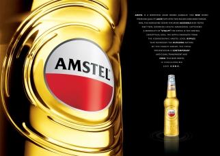 Amstel Ripple Bottle