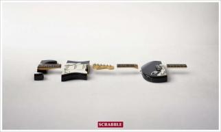 Scrabble Guitar