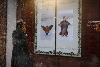Wieden + Kennedy Christmas Window