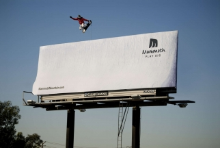 Mammoth Mountain Resort Snowboarder