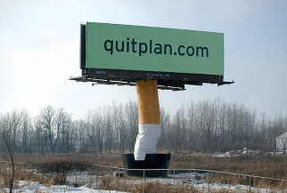 Quitplan Big Butt Billboard