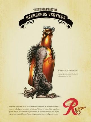 Rainier Beer Refreshus Verticus