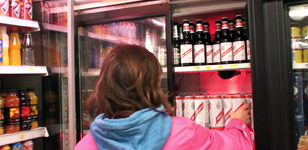 Red Stripe Lager Make Music in the Corner Shop