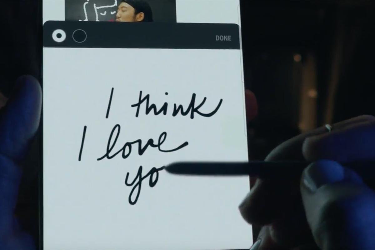 Samsung Galaxy Note8 I Love You