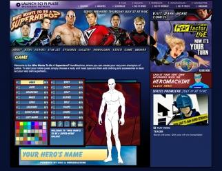 Sci-Fi Channel HeroMachine