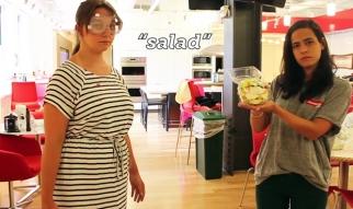 Seamless NeverWet vs. Food