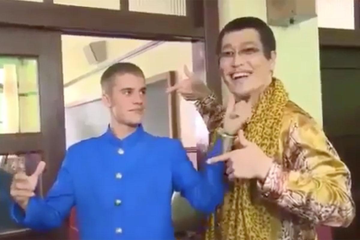 SoftBank Pen-Pineapple-Apple-Pen and Justin Bieber