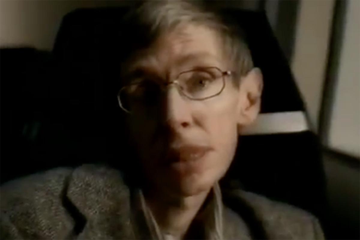 Specsavers Stephen Hawking