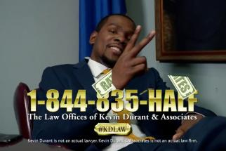 Sprint 800 Kevin Durant Associates Infomercial
