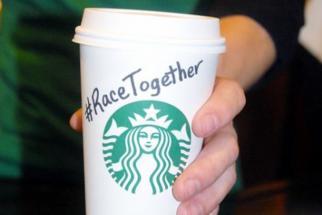 Starbucks Race Together (Slideshow)