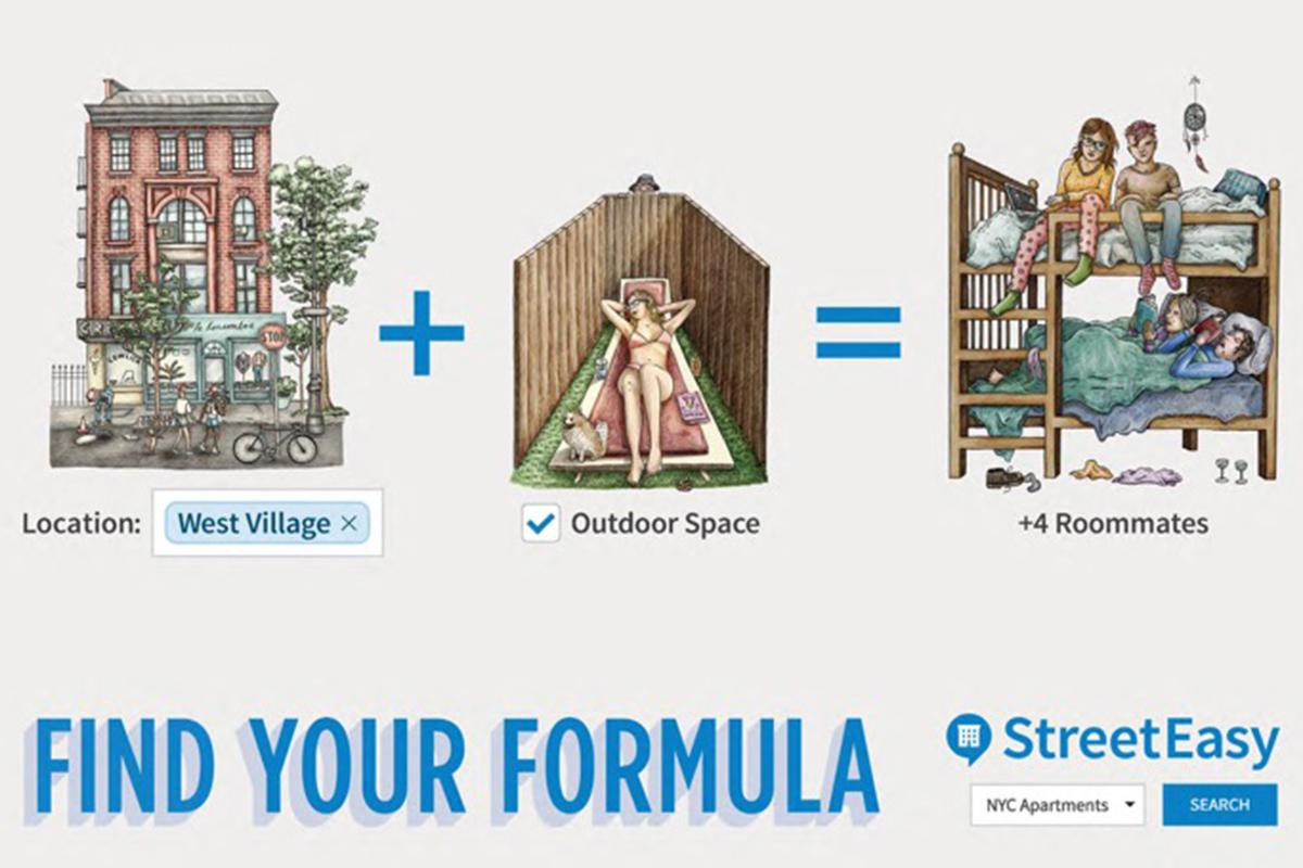 StreetEasy Find Your Formula