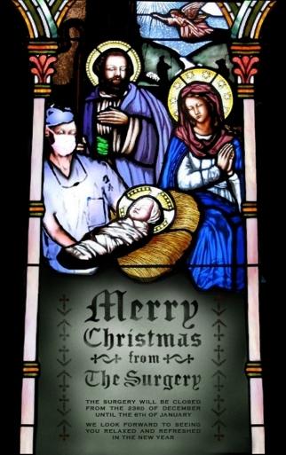 Self-Promo The Surgery Christmas E-Card