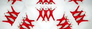 TEDxSUMMIT The Human Arabesque Kaleidoscopic Experiment
