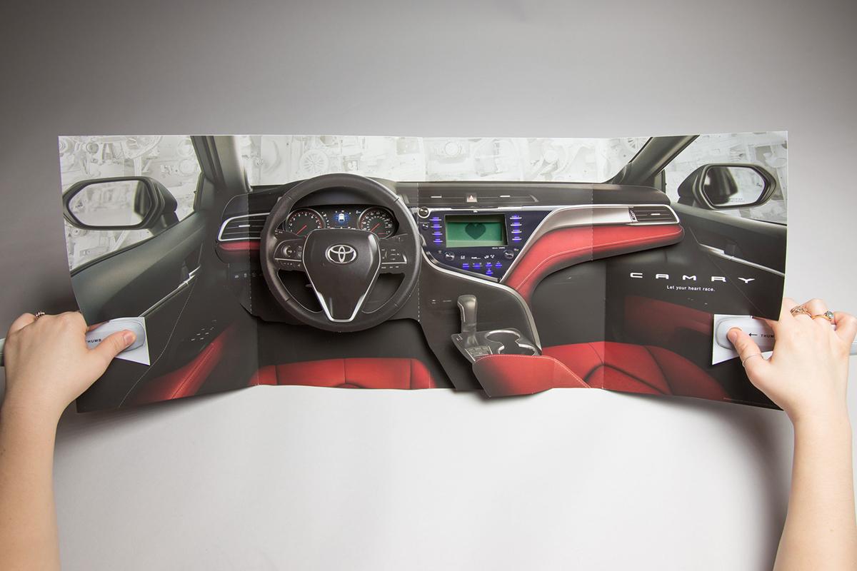 Toyota Camry Dashboard Print Ad