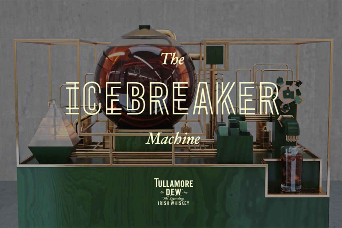 Tullamore Dew Icebreaker Machine