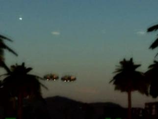 Partizan UFO over Haiti